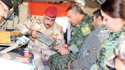 Irak ordusu YPG ile anlaştı, koalisyon güçleri de görüştü