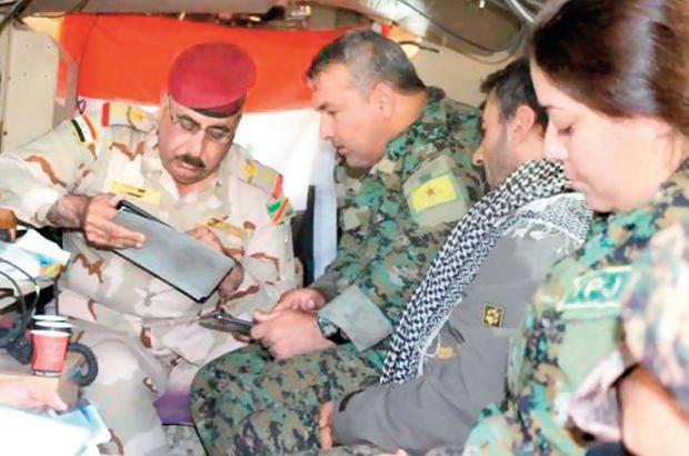 PKK YPG Irak ordusu