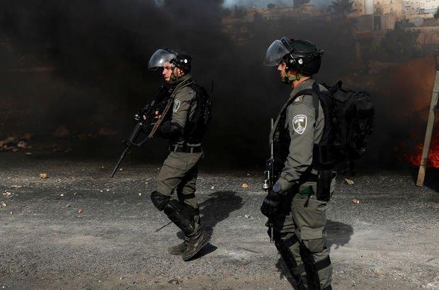 İsrail polisinden gerçek mermiyle müdahale!