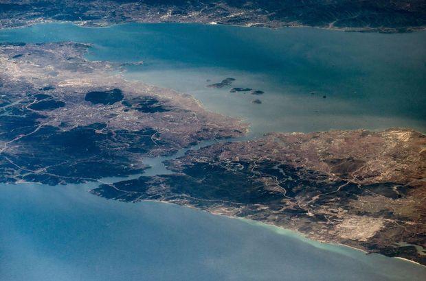 NASA astronotundan 'İstanbul' paylaşımları!