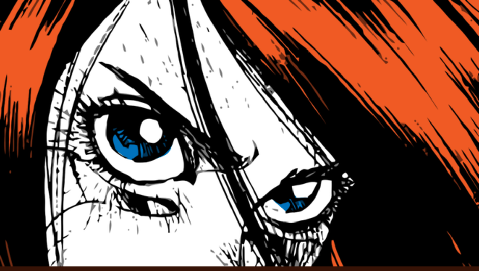 Kocaman anime gözler