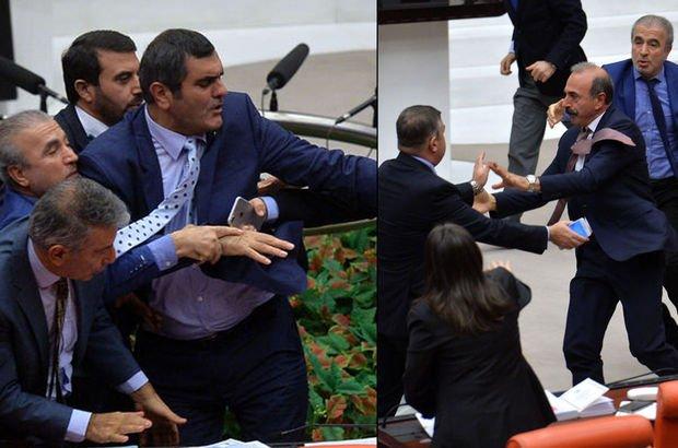 Meclis'teki bütçe görüşmelerinde gerginlik
