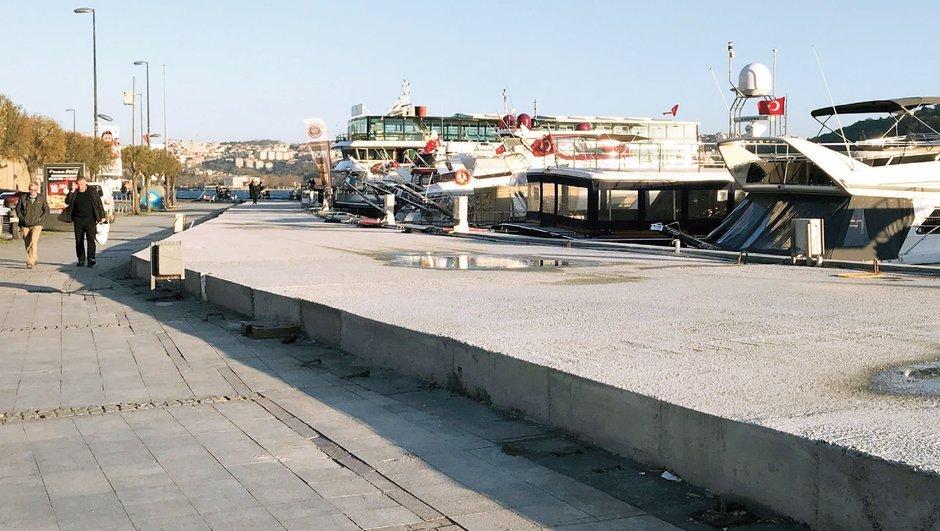 Kazıklı yola 'yüksek' doz beton!