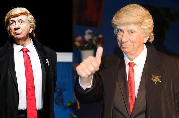 Usta oyuncuya Trump tepkisi