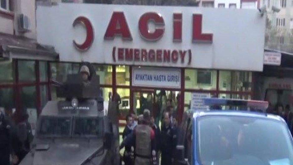 Birecik'te 1 işçi Suriye'den açılan ateşle yaralandı