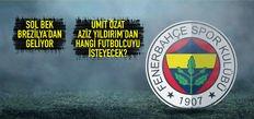 Fenerbahçe'de dev transfer harekatı!