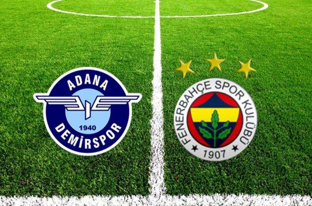 Adana Demirspor - Fenerbahçe maçı hangi kanalda? | Türkiye Kupası