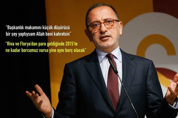 Fatih Altaylı Galatasaray Divan Kurulu'nda konuştu