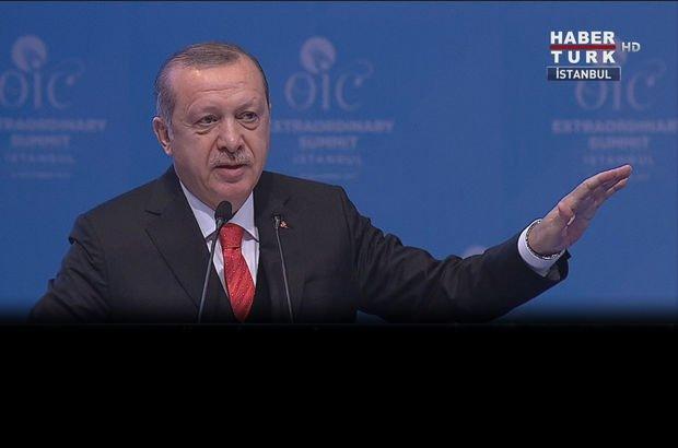 Erdoğan: Kudüs'ün sahipsiz olmadığını gösterdik