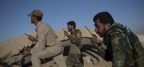 DEAŞ'lı teröristler çaresiz kalınca kendini patlattı