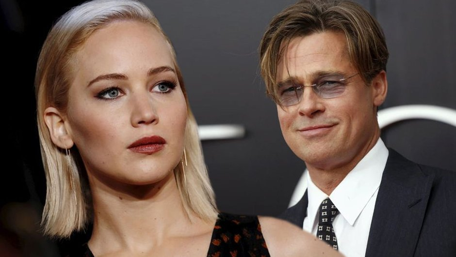 Jennifer Lawrence, Brad Pitt