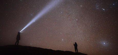 Geminid meteor yağmuru fotoğraflar