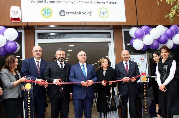 Türkiye'nin ilk Geronteknoloji Merkezi açıldı
