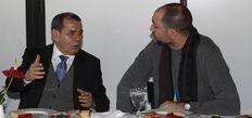 Özbek'ten Tudor'a destek