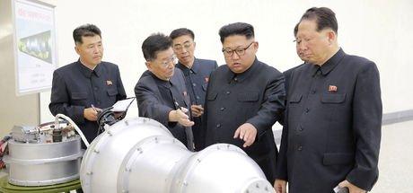 Kuzey Kore'nin atom bombası fotoğrafları yayınladığı iddia edildi!