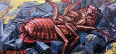 Şehri böcekleyen adam: Canavar