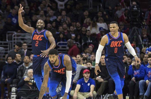 Thunder'ı Westbrook taşıdı