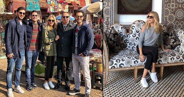 Sabancılar'ın Marrakech tatili