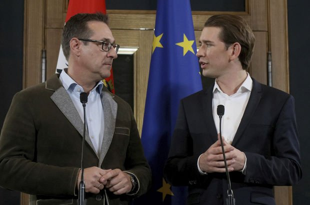 Avusturya'da merkez sağ-aşırı sağ dönemi başladı!