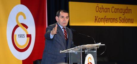 """Dursun Özbek: """"Türkiye denince akla Galatasaray gelir"""""""