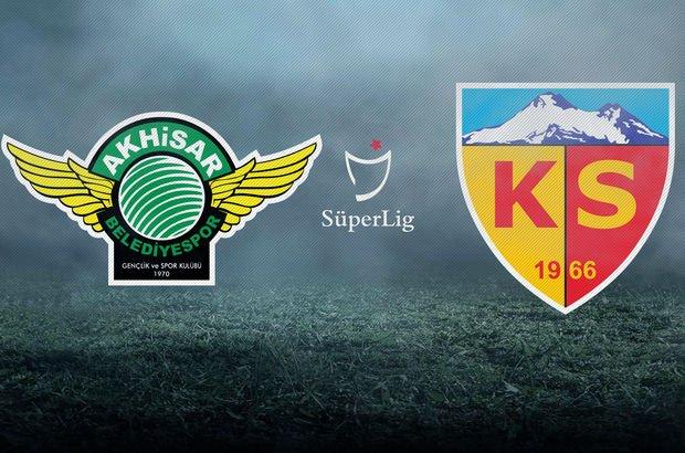 Akhisarspor, Kayserispor'u konuk ediyor