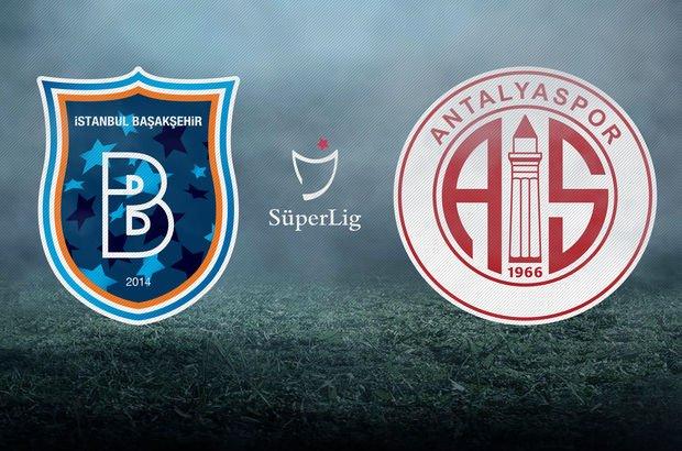 Başakşehir ile Antalyaspor karşı karşıya