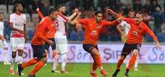 Başakşehir'den 4 gollü geri dönüş!