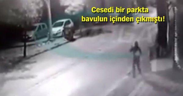 Gaziantep'te cesedi valize konulan bebeğin güvenlik kamera görüntüleri ortaya çıktı