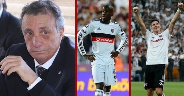 Ahmet Nur Çebi'den Mario Gomez ve Demba Ba açıklaması