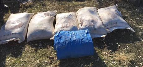 Hasankeyf'te 8 sığınak içerisinde patlayıcı düzenekleri ele geçirildi