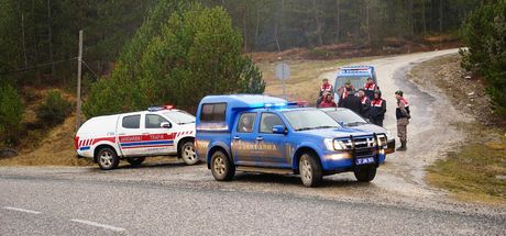 Kastamonu'da kayıp 5 kişilik aile ile ilgili olay yerinde zanlılara keşif yaptırıldı