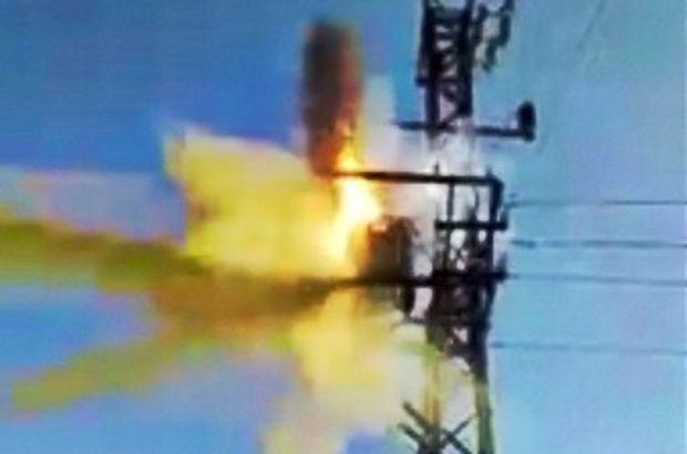 Son Dakika... Ağrı'da elektrik trafosu bomba gibi patladı