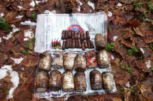 Bitlis'te 13 el yapımı patlayıcı imha edildi