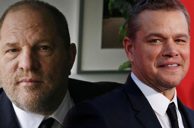 Matt Damon, Harvey Weinstein