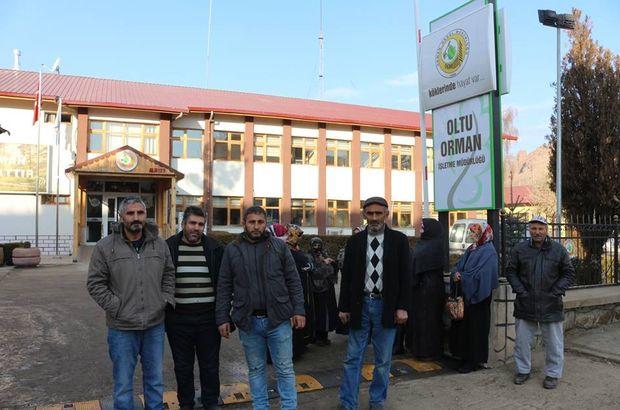 Erzurum'da işçilerin iş olmadığında dışarıda soğuk havada bekletildikleri iddia edildi