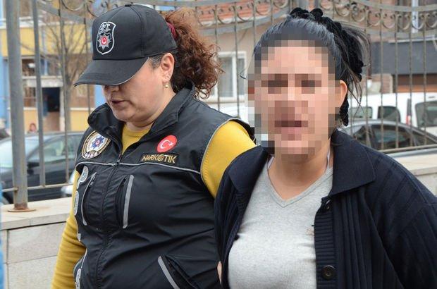 Eskişehir'de uyuşturucu satıcısı kadın: İyi çek iyi, haz alırsın