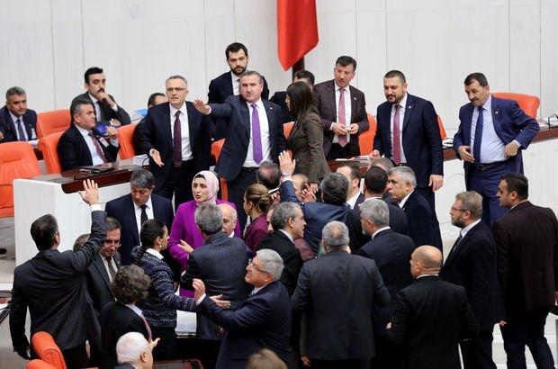 AK Parti ve HDP'li vekiller arasında gerginlik!