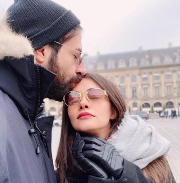 Hande Soral ile İsmail Demirci'nin Paris romantizmi