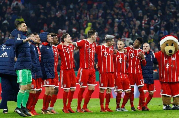 Gecenin maçını Bayern kazandı!
