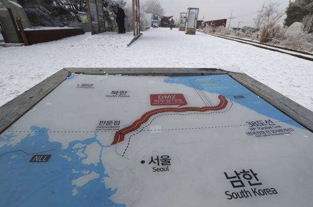 Güney ile Kuzey Kore sınırında gerilim: Ateş açıldı!