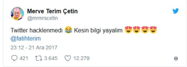 Fatih Terim'in kızı Merve Terim Çetin'den 'hack' açıklaması - Merve Terim kimdir?