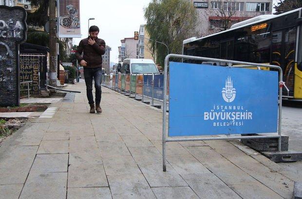 Nispetiye Caddesi'nde arbedeye neden olan çalışma tamamlandı