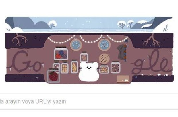 21 Aralık Kış Gündönümü, Google'da doodle oldu