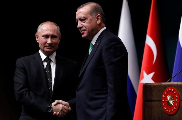 Cumhurbaşkanı Erdoğan'dan Vladimir Putin'e teşekkür telefonu