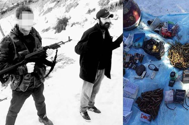 PKK'lı terörist gösterdi, çok sayıda silah ve patlayıcı ele geçirildi!