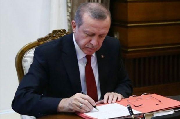 Cumhurbaşkanı Erdoğan'dan 2 kanuna onay