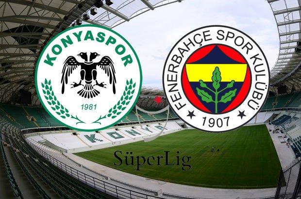 Konyaspor - Fenerbahçe CANLI saat kaçta, ne zaman hangi kanalda?