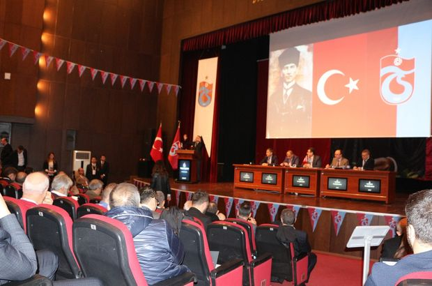 Trabzonspor'da yönetim ibra edildi