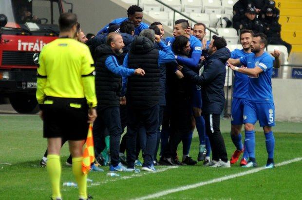 Gazişehir Gaziantep: 1 - Çaykur Rizespor: 2
