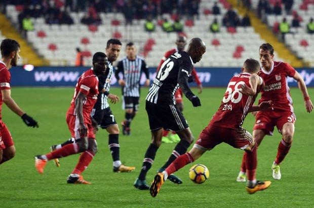 Sivasspor Beşiktaş maç sonucu! Kartal ağır yaralı...